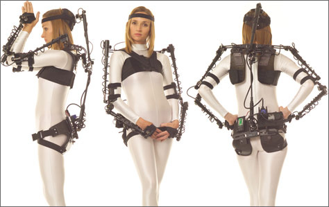 Motion Capture Suit >> exoskeletons [the libarynth]
